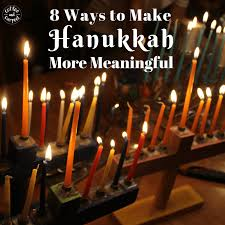 8 fun and simple ways to make hanukkah more meaningful for your family this year