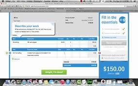 Freshbooks Free Invoice Quick Look At Free Invoice Creator Via Freshbooks YouTube 20