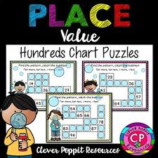 Hundreds Chart Puzzles Fill In The Missing Numbers