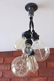 industrial pipe lighting. Cluster Bulb Pendant Chandelier - Industrial Pipe Lighting Hanging Pendent Lights For Over Kitchen Island Or D