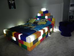 lego furniture for kids rooms. handmade diy lego bedframe for young child furniture kids rooms l