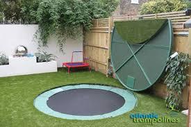 in ground trampoline. Sunken Trampolines In Ground Trampoline