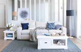 oz living furniture. Oz Design Hamptons Living Room With Blue And White Colours Furniture L