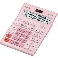 <b>Калькулятор</b> 12-разр. роз. <b>GR</b>-<b>12C</b>-<b>PK Casio</b>