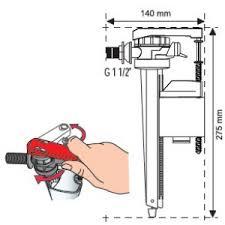 Как выбрать <b>заливной</b> клапан <b>для унитаза</b> - виды, конструкции ...
