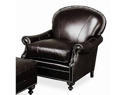Leather Accent Chair With Ottoman Biltmore Accent Chairs And Ottomans Pinehurst Leather Club Lounger