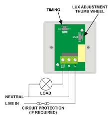 wiring diagram for pir sensor wiring wiring diagrams