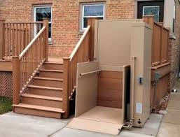 exterior stair chair lift. Plain Lift WheelchairLifts For Exterior Stair Chair Lift