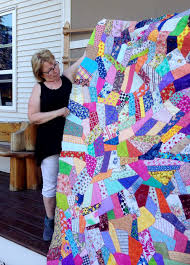 Sew & Tell….Crazy Quilt | Hamels Thread & Daphne, a local customer brought in this king size crazy quilt top. Her  sister Nina who lives on Fogo Island off the coast of Newfoundland designed  and ... Adamdwight.com