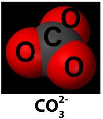 نتیجه تصویری برای یون کربنات