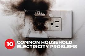 10 common electrical problems around the home platinum electricians when it comes to household electrics your safety is paramount flickering lights high bills and damaged appliances can all be a sign of electrical