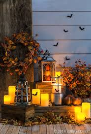 Outdoor Light Up Halloween Tree Light Up Your Front Porch With Fall Festive Lanterns