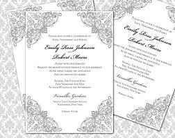 Diy Wedding Invitation Printable Template 5x7 Invitation 2295980