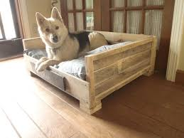 wooden dog bed 8 diy pallet beds for dogs beautiful wooden dog bed plans 2