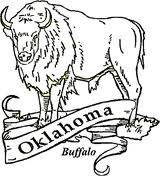 Oklahoma State Symbols Coloring Page Free Printable Coloring Pages