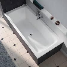 kaldewei cayono duo rectangular bathtub 180 x 80 cm with easy clean finish