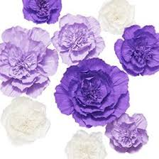 Homemade Paper Flower Decorations Lings Moment Paper Flower Decorations 9 X Giant Crepe Paper Flower