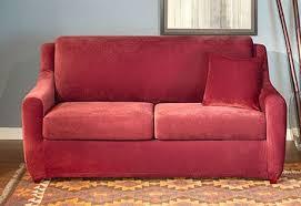 stretch pique full sleeper sofa