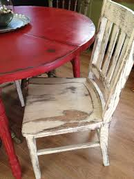 Distressed Kitchen Furniture Distressed Round Country Kitchen Table The Chair Is A Little Too