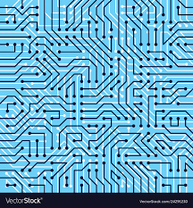 Motherboard Design Motherboard Board Seamless Pattern Background
