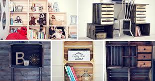 creative diy wood crate project ideas
