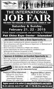 Overseas Employment Fair Lahore Islamabad 2015