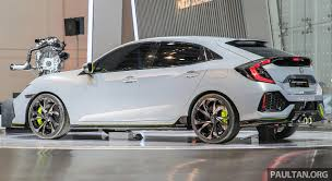 honda civic hatchback 2016. Beautiful Hatchback GIIAS 2016 Honda Civic Hatchback Prototype Displayed U2013 Thaibuilt  Fivedoor Coming With 2016 C