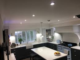 lighting for the kitchen. Electrics And Lighting For New Domestic Kitchen In Hove. ×. × The