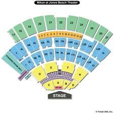 Nikon Seating Chart Jones Beach Concert Seating Chart Islanders Coliseum Seating