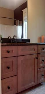 vanity cabinets for bathrooms. Kraftmaid Sedona Cherry Vanity Cabinet Cabinets For Bathrooms .