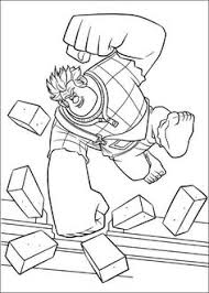 26 Best Wreck It Ralph Images Disney Coloring Pages Disney