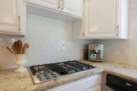 kitchen white glass backsplash. White Subway Tile Kitchen Backsplash Square Shape Silver Sink Decor Idea Open Design Glass