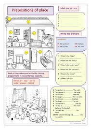 Prepositions of place | Aprendiendo. Inglés | Pinterest ...