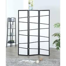 3 panel screen room divider wood folding freestanding partition privacy black free standing house kits