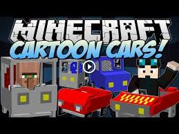 The ferrari f40 is a legend in the art and technology of automotive engineering of the 80s. Minecraft Cartoon Cars Drive A Ferrari Jeep Truck More Mod Showcase