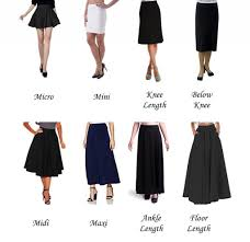 Types Of Design In Fashion A Z List Of Types And Silhouettes Of Skirts In Fashion