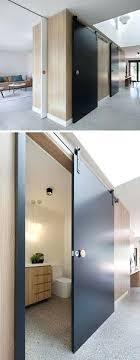a contemporary update for brick house in modern barn hanging sliding door ikea pax doors