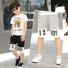 <b>2018 New Summer</b> Children's Shorts Boy <b>Casual</b> Pants Shorts Gray/9