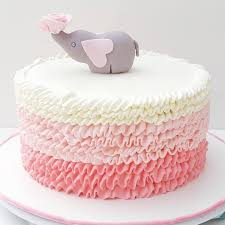 Twin Boy And Girl Baby Shower Cake Ideas Also Pink And Gold Baby