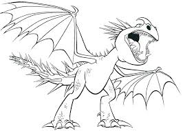 Dragon Coloring Page Toothless Dragon Coloring Pages How To Train