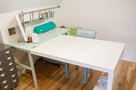 Ikea Hack Expedit Craft Desk Makeover. www.1dogwoof.com