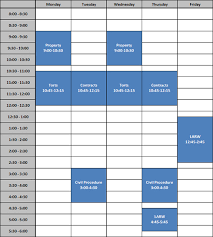 Sample Schedules Sample Schedule Sample schedule The University of Akron 2