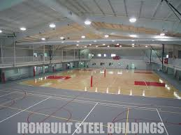 recreational steel buildings metal gymnasiums sports