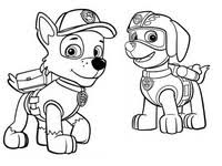 Kleurplaten Paw Patrol Morning Kids