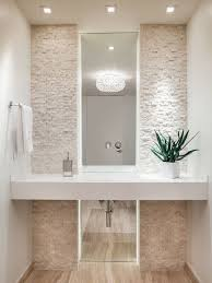 powder room lighting ideas. Ocean Drive Condo House By 2id Interiors Pot Lights Stone Backsplash And Tiles Powder Room Lighting Ideas O