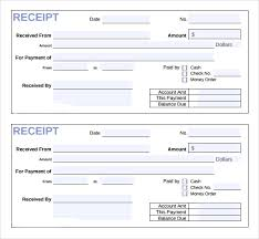 Receipt Template Download Sample Invoice Receipt Template 9 Download Free Documents In Pdf