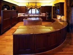Curved Kitchen Island Designs Amazing Of Cool Curved Kitchen Island Designs In Curved K 6207