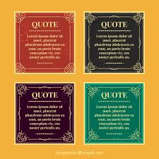 Vix Quote Best Old School Quote Templates Vector Free Download