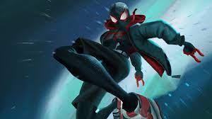 Miles Morales Into The Spider verse 4k ...
