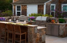 outdoor patio and backyard medium size outdoor kitchen slate patio backyard top designs and costs home